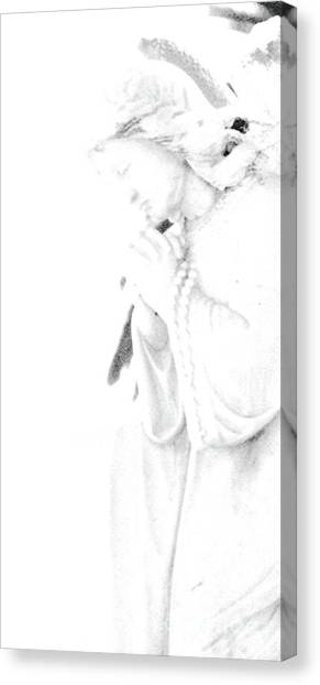 Pray Canvas Print