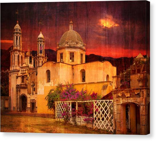Prayers At Dusk Canvas Print