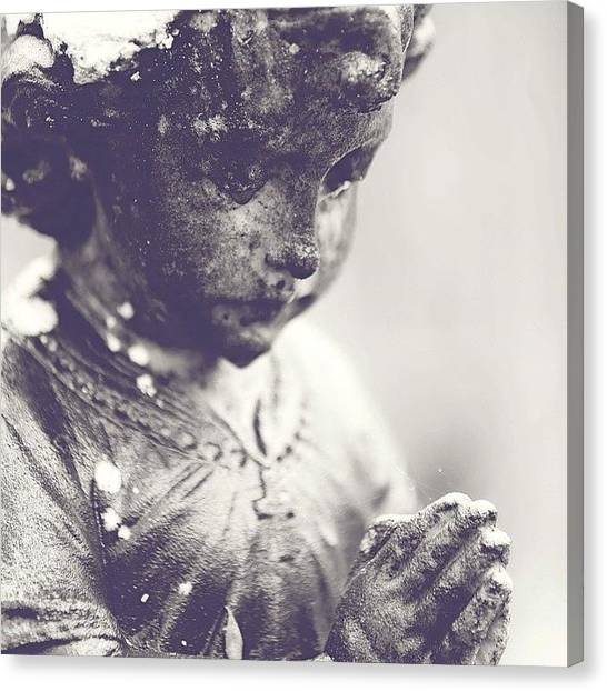 Gardens Canvas Print - Praying For You.. For Those In Need by Scott Pellegrin