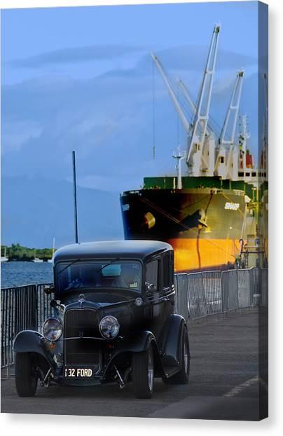 Precious Cargo Canvas Print