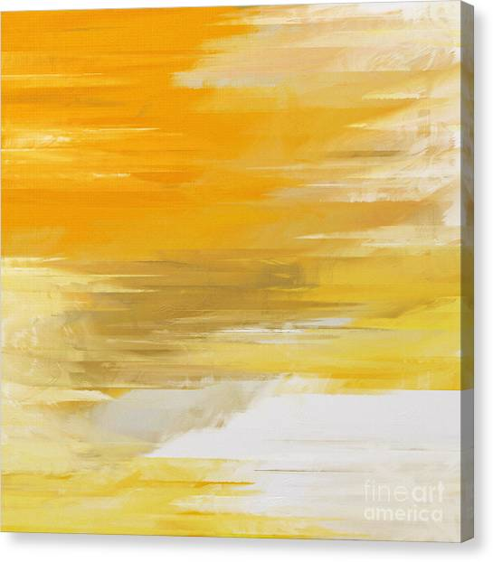 Precious Metals Abstract Canvas Print