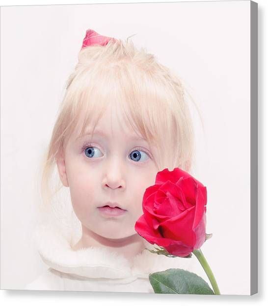 Precious Porcelain Princess Canvas Print
