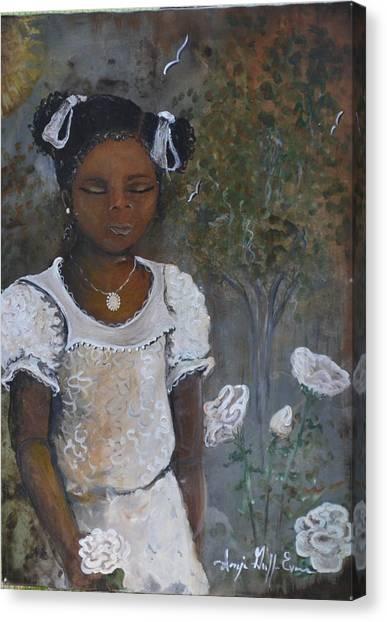 Precious Canvas Print by Sonja Griffin Evans