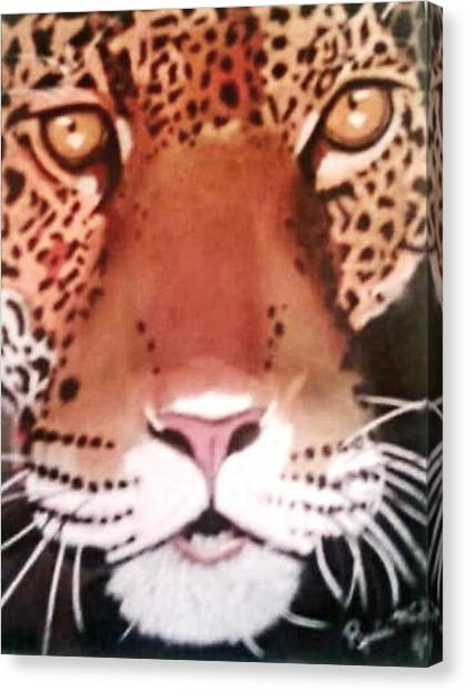 Leapords Canvas Print - Predator by Renee Michelle Wenker