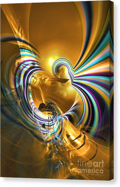Prelude Of Colors - Surrealism Canvas Print