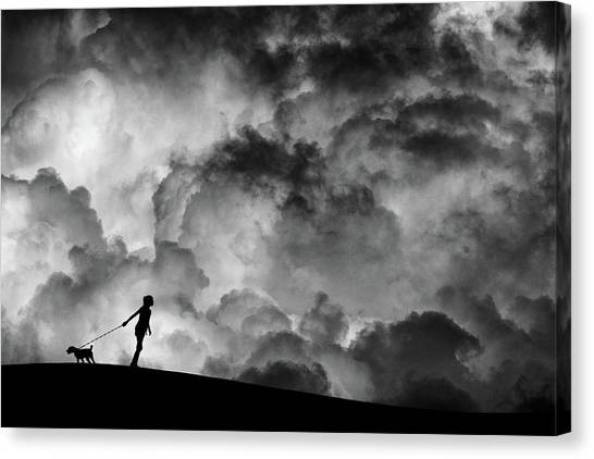 Mood Canvas Print - Prelude To The Dream by Hengki Lee