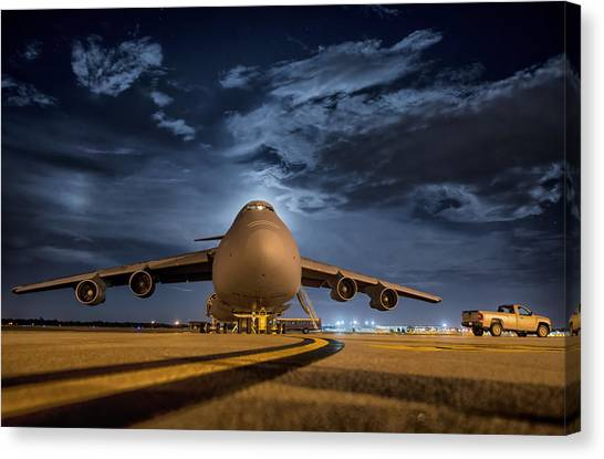 National Guard Canvas Print - Prepped For Flight by Mountain Dreams