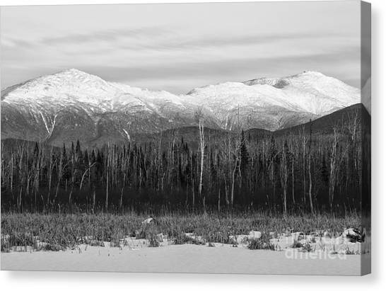 Presidential Range - Pondicherry Wildlife Refuge New Hampshire Canvas Print