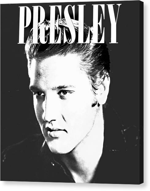 Presley Look Canvas Print