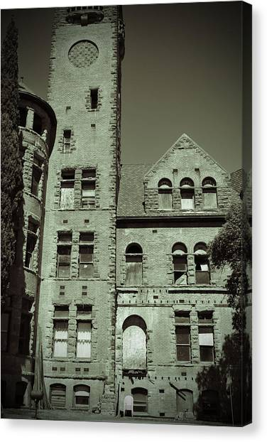 Preston Castle Tower Canvas Print