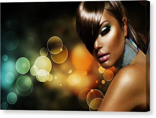 Pretty Brown Sugar Canvas Print
