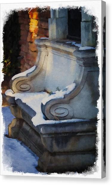 University Of Colorado Canvas Print - Pretty But Not Inviting by Priscilla Burgers