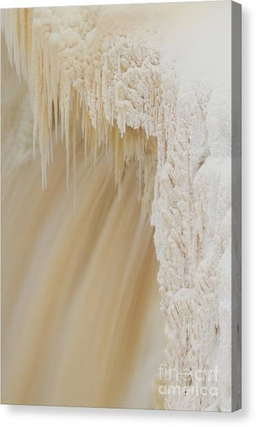 Northwest Territories Canvas Print - Pretty Alexandra Falls by Lisa Killins