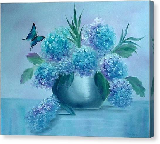 Pretty In Blue Canvas Print