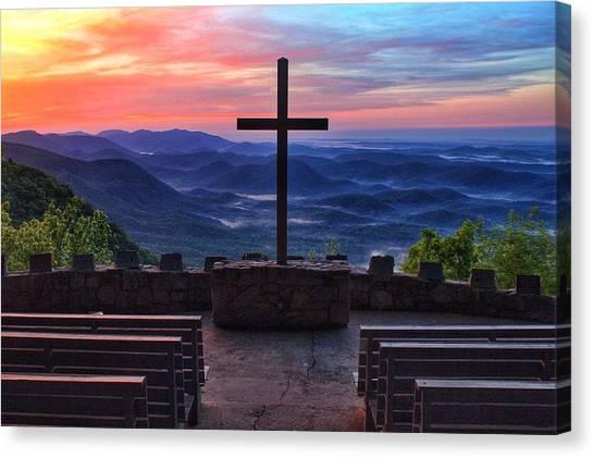 Pretty Place Chapel Sunrise Canvas Print