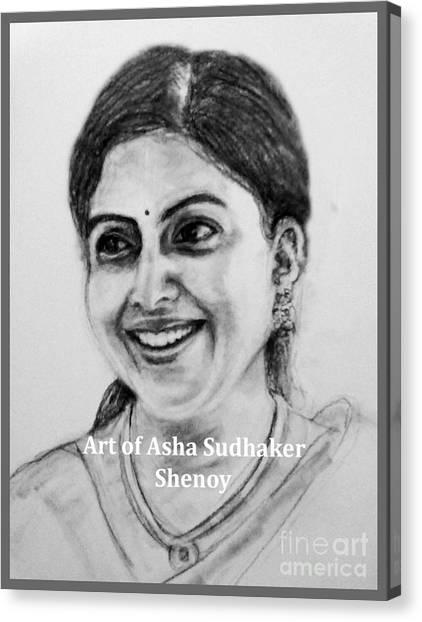 Pretty Smile Canvas Print