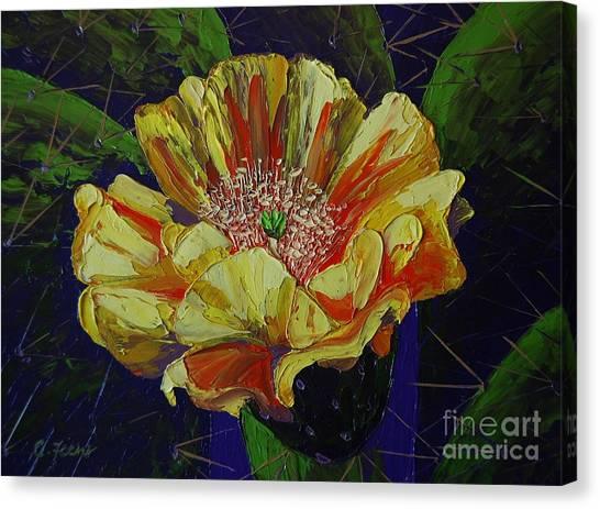 Prickly Flower Canvas Print