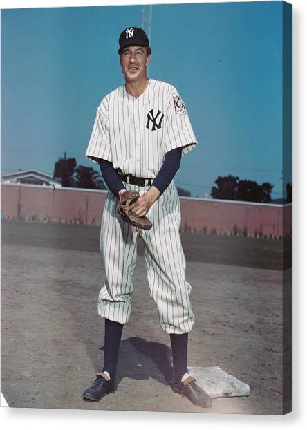 Lou Gehrig Canvas Print - Pride Of The Yankees by Silver Screen