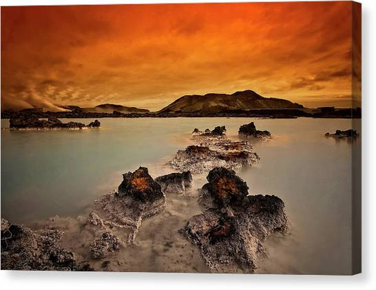 Mud Canvas Print - Primal Elements by ?orsteinn H. Ingibergsson