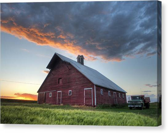 Primary Palouse Colors Canvas Print
