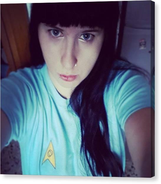 Spock Canvas Print - Prime Prove Con T-shirt Random - #fem by Daniela Barisone