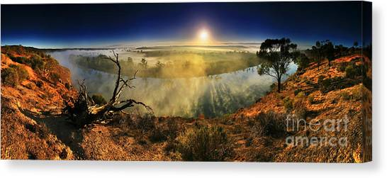Primeval Dawn Canvas Print