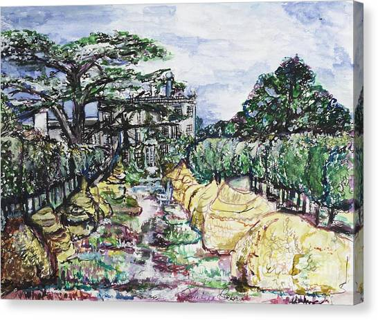 Prince Charles Gardens Canvas Print