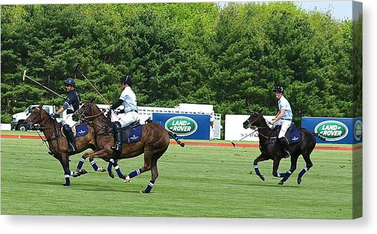 Prince Harry Greenwich Polo Club Canvas Print