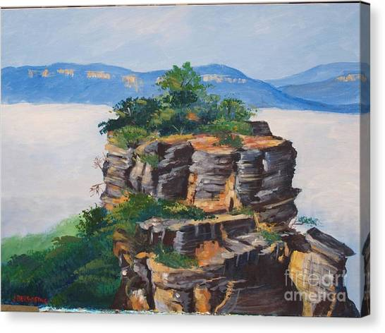 Prince Henry Cliff Australia Canvas Print