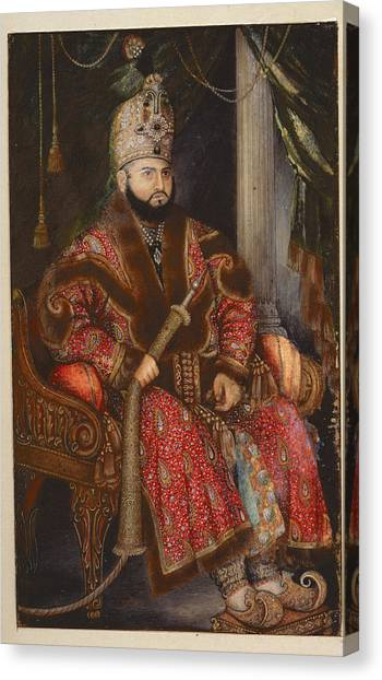 Islam Canvas Print - Prince Mirza Muhammad Salim by British Library