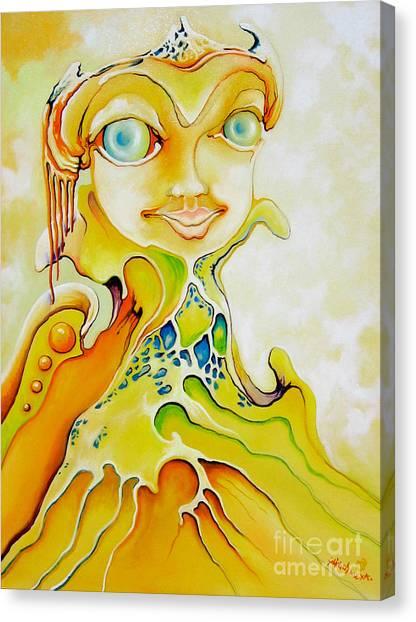 Prince Of Deep Sea Canvas Print