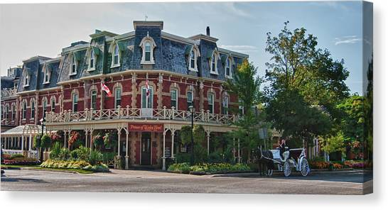 Prince Of Wales Hotel 9000 Canvas Print
