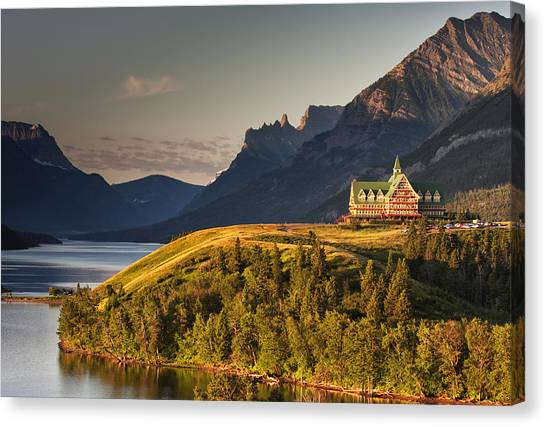 Prince Of Wales Sunrise Canvas Print