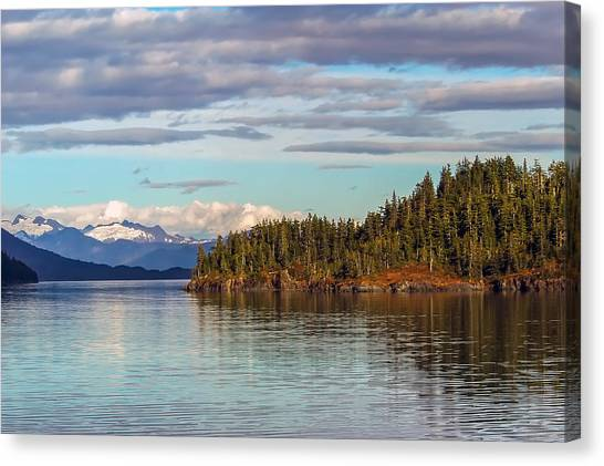 Prince William Sound Alaskan Landscape Canvas Print