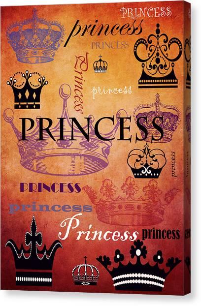 Princess 2 Canvas Print
