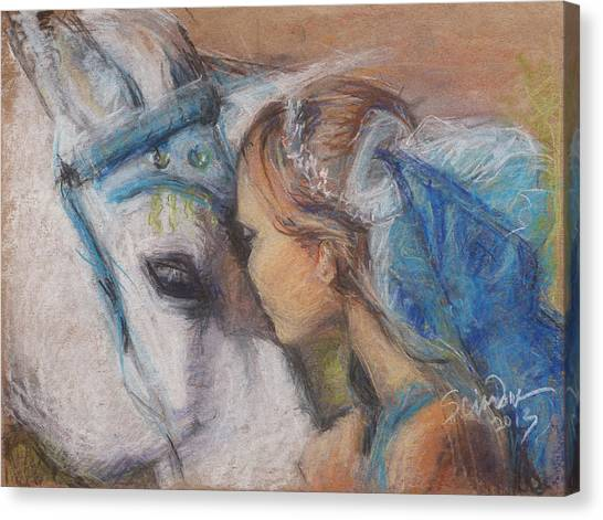 Alyssa And Lonnee Canvas Print