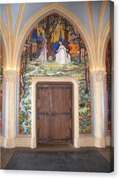 Princess Door Canvas Print