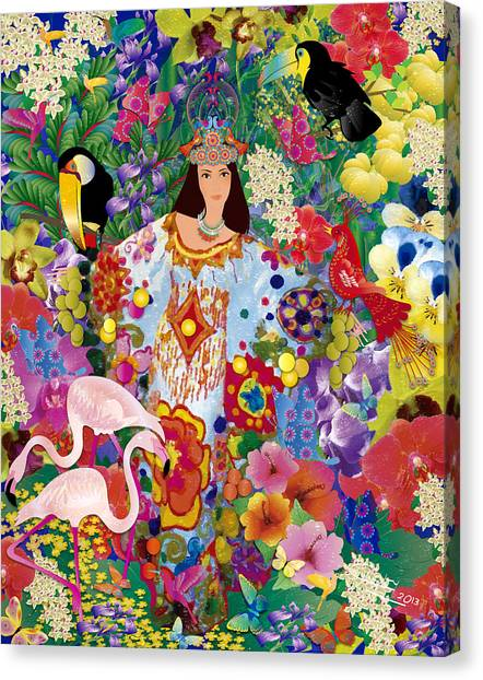 Princess Guajira Canvas Print