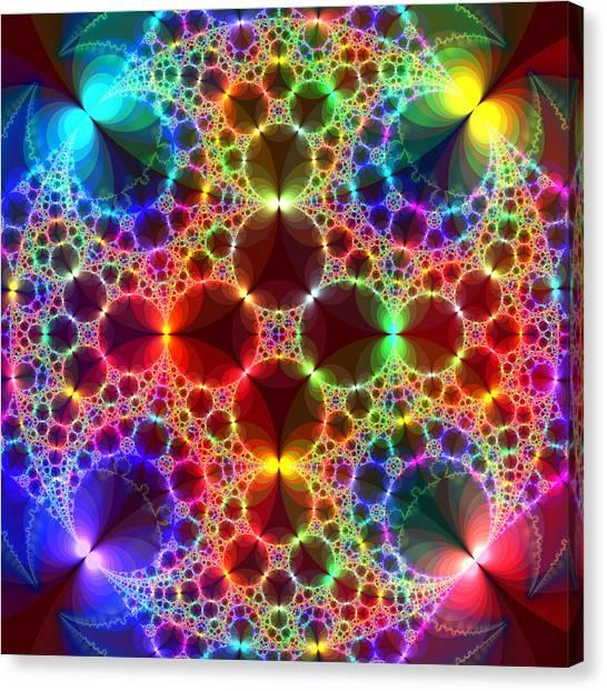 Prism Bubbles Canvas Print