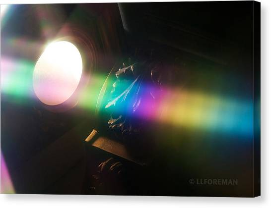 Prism Of Light Canvas Print