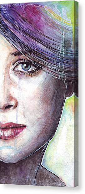 Emotional Canvas Print - Prismatic Visions by Olga Shvartsur
