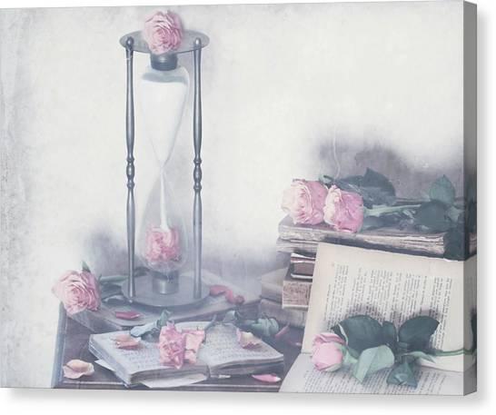 Prisoner Of Time Canvas Print by Delphine Devos