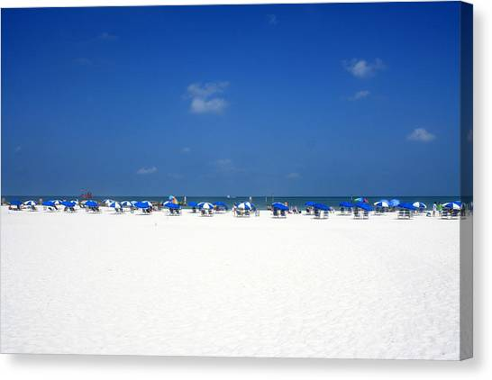 Pristine Clearwater Canvas Print