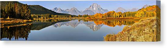 Pristine Panorama Canvas Print