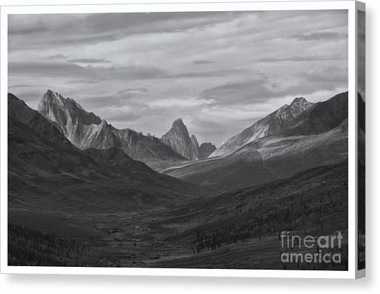 Tundras Canvas Print - Pristine Valley by Priska Wettstein