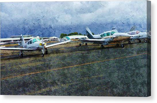 Private Airport Canvas Print