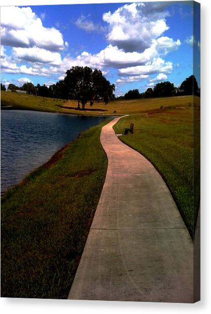 Private Park,fl. Canvas Print