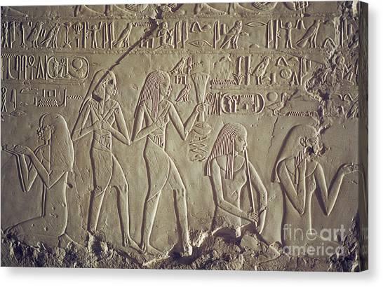 Private Tomb Of Kheruef Kheruf Cheriuf Tt 192 Asasif-stock Image-fine Art Print-valley Of The Kings Canvas Print