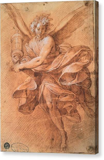 Lead Character Canvas Print - Procaccini Camillo, Flying Angel by Everett