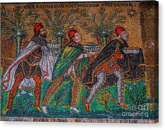 Procession Of The Magi Canvas Print